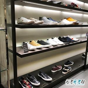紳士靴売り場