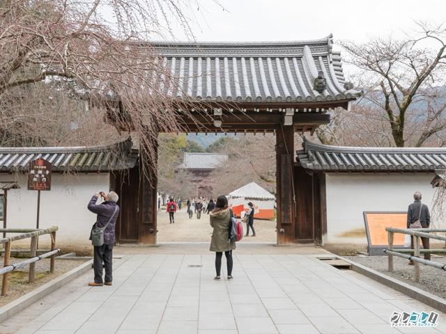醍醐寺の入り口