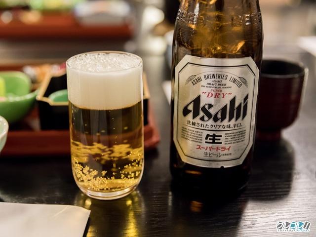 ビールも選択できる